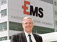 Christoph Blocher, chief executive of Ems Chemie