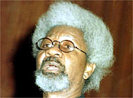 Wole Soyinka's play criticises dictators from Africa and elsewhere