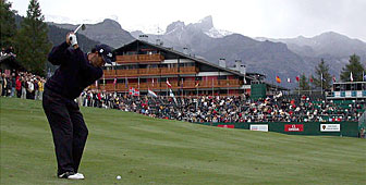 Ricardo Gonzalez had led since the opening day in Crans