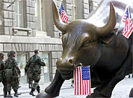 Wall Street reopened on Monday for the first time since the terrorist attacks