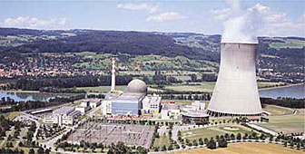 The Leibstadt nuclear power plant in Switzerland (picture:www.kkl.ch)