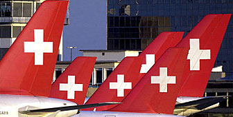 Swissair is to cut its fleet as part of a major reorganisation