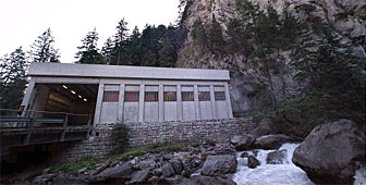 The Swiss government has its own bunker near Kandersteg in canton Bern
