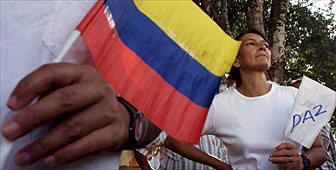 The people of Colombia are striving for peace after decades of unrest