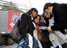 Young Swiss Abroad were invited home to follow the elections