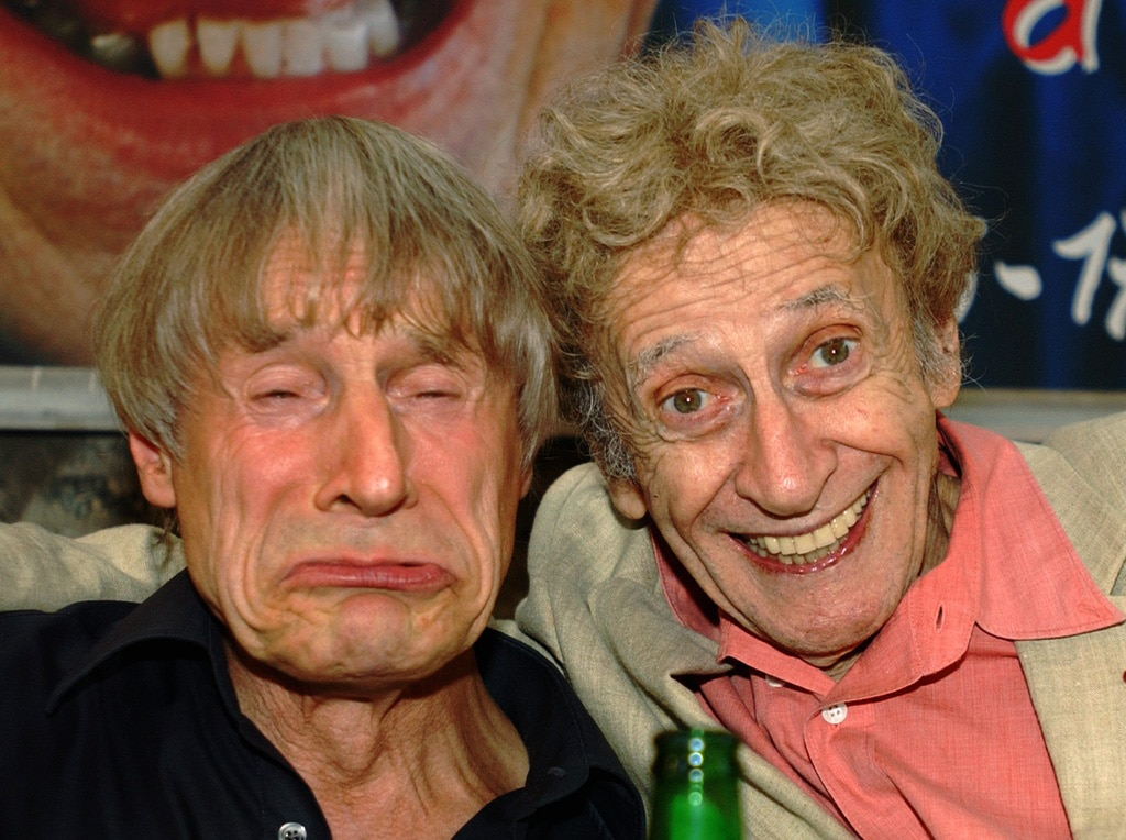 Dimitri and Marcel Marceau met for the first time in 1958 in Paris. Pictured here in 2005 (Keystone/Karl Mathys)