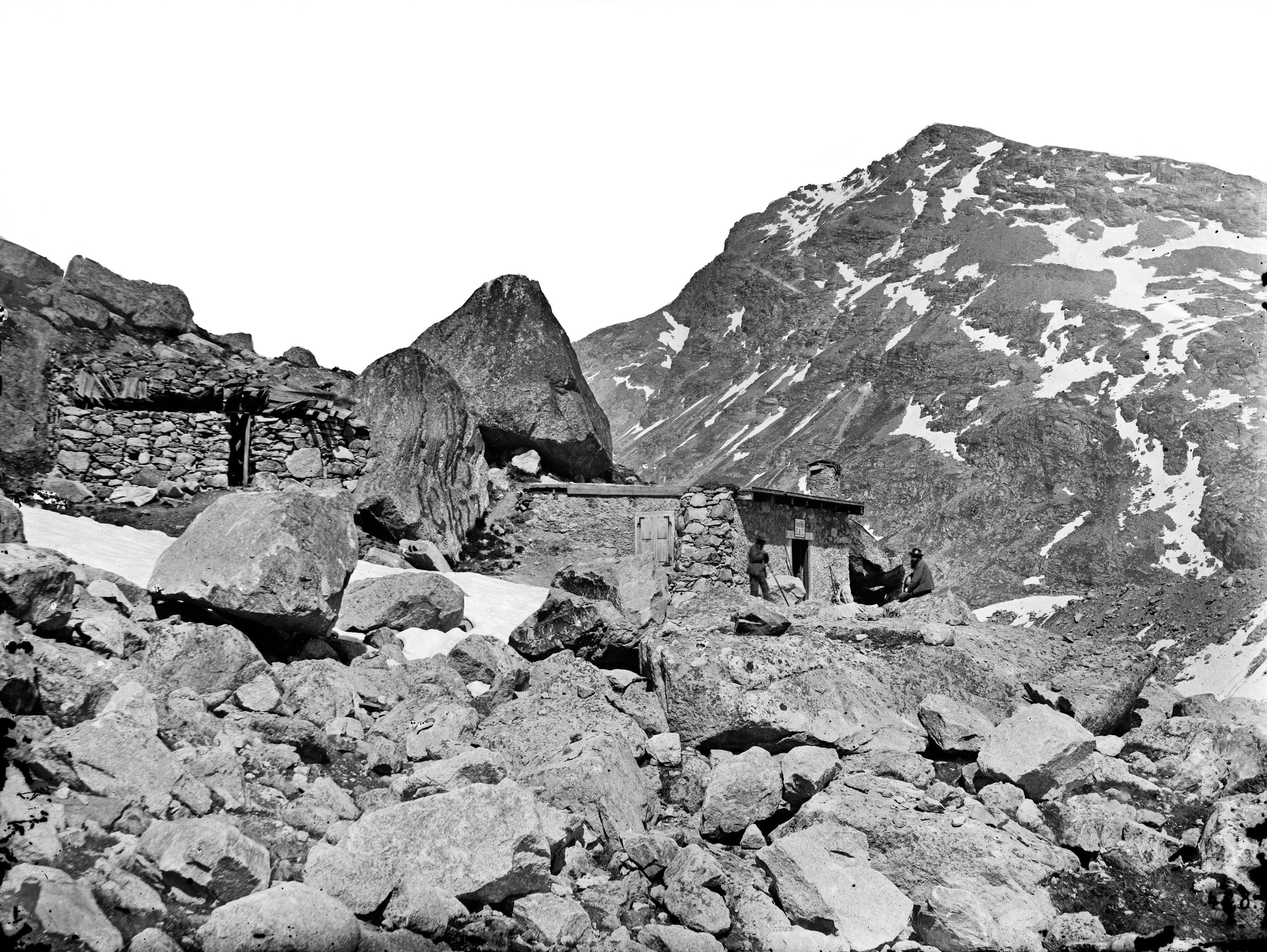 Boval Hut, 1879