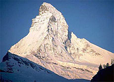 Up to 150 people a day try to climb the Matterhorn during the summer (Schweiz Tourismus)