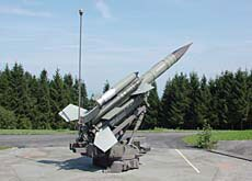 The missiles pointed east because of the perceived communist threat