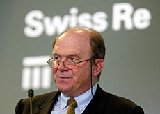 Swiss Re boss, Walter Kielholz, said the entire industry had been hammered