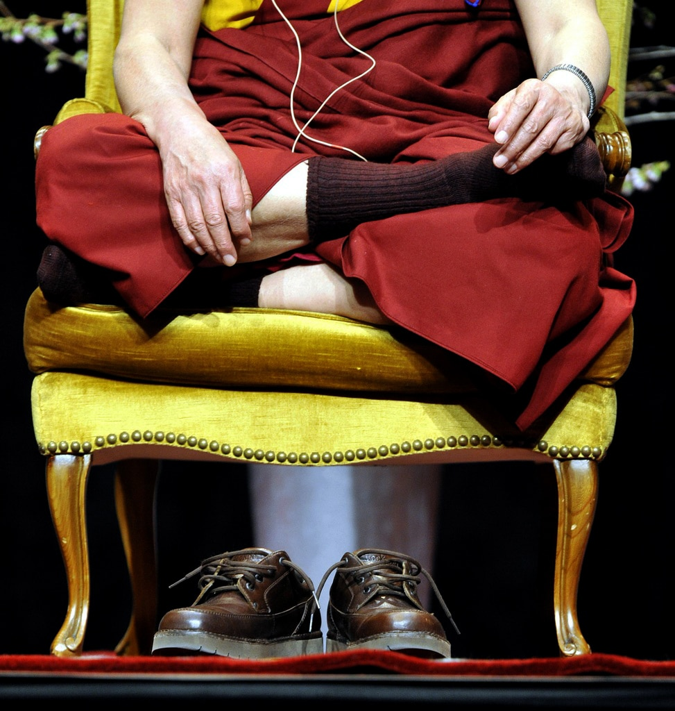 The Dalai Lama visited Switzerland in April.  (Keystone/Walter Bieri)