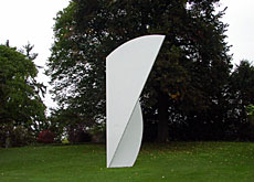 "The artist's ""White Curves 2001"" now has a permanent home in the museum park"