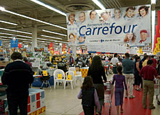 Carrefour is set to challenge Swiss stalwarts, Migros and Coop's leading market position