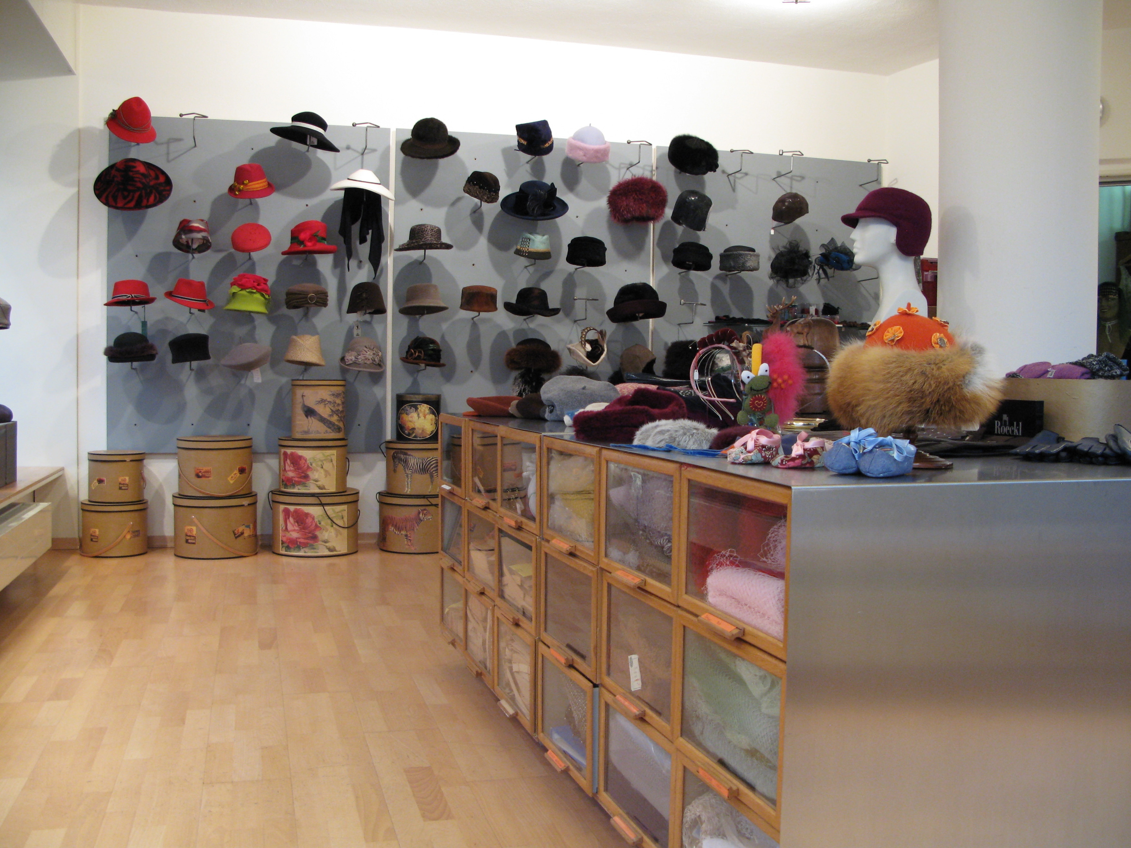 The Caroline boutique is located at Moosstrasse 1 in Lucerne.