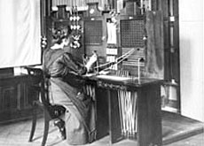 Technology has moved on since the days of the telephone operator (MfK)