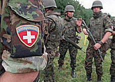 Swiss peacekeepers in Kosovo will now be armed