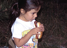 The fast food culture has spread to deeply traditional Sioux society (Helmut Kaiser)