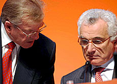 Andres Leuenberger (left) and Roland Chlapowski are under presssure to resign