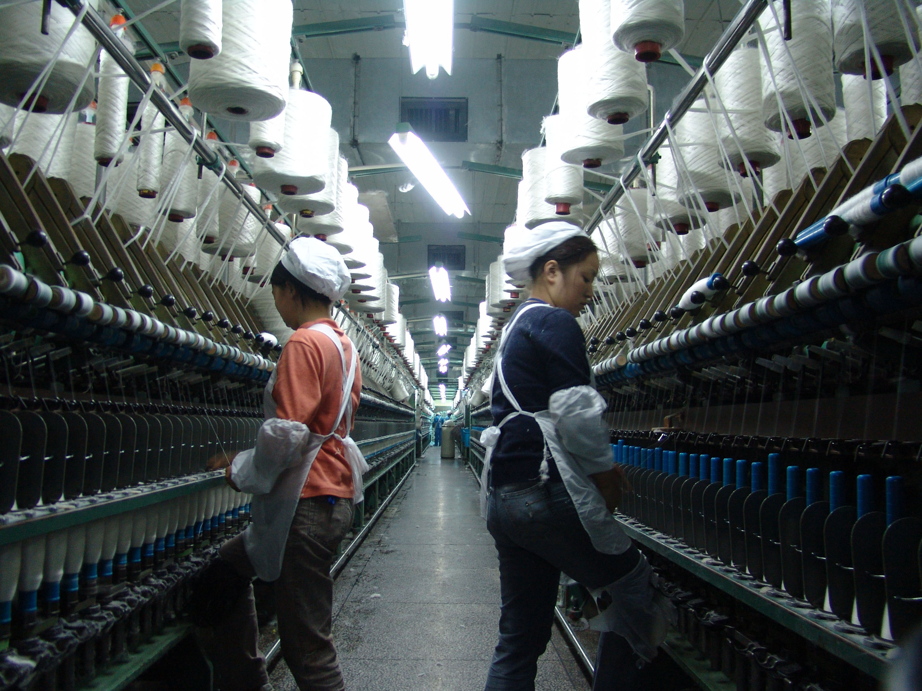The Hebei Carpet Factory in China (2010)