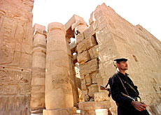 Security was stepped up in Luxor after the 1997 massacre