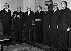The first photo of the cabinet after the Magic Formula was born in 1959