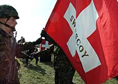 Swiss troops are likely to remain in Kosovo