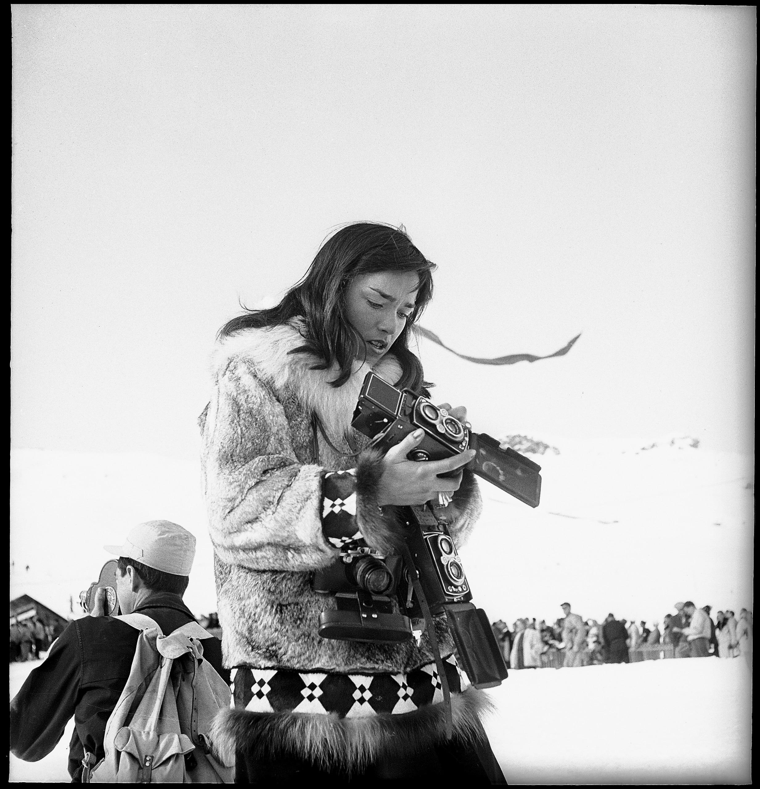 Une photographe de presse venue d'Alaska.