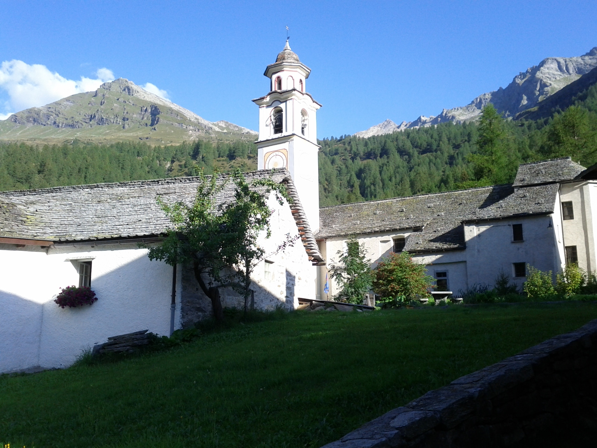 The village is set in an Italian region, but is known as a German-speaking enclave.