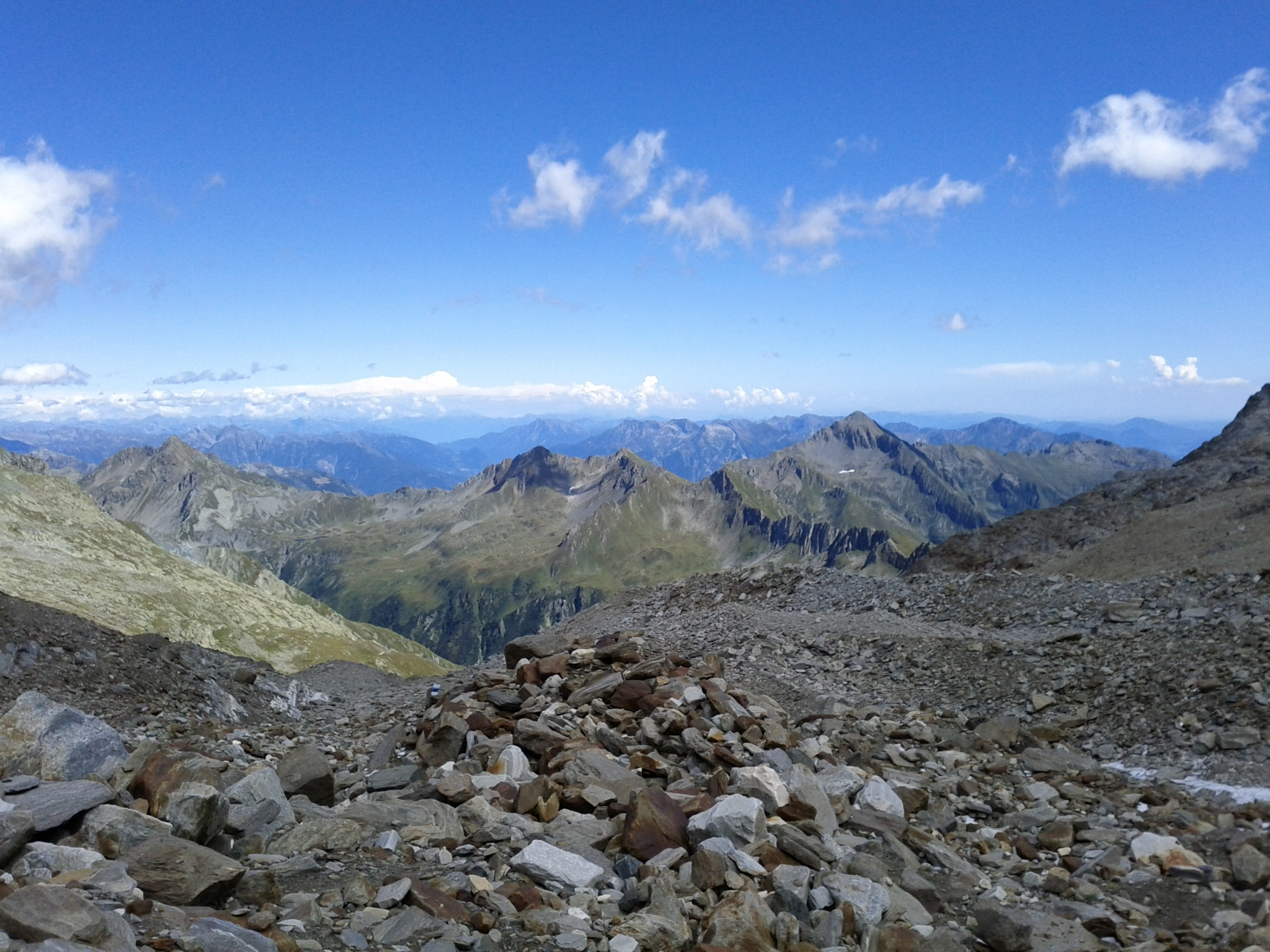 Looking east across the Centovalli​, where I crossed a week or so ago.