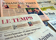 Newspapers warn that the issue of banking secrecy will not go away