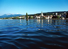 The small town of Evian will host the G-8 summit in June