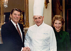 Henry Haller with Ronald and Nancy Reagan (Haller)