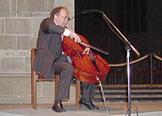 Beat Richner uses his cello to help in the fight against children's diseases
