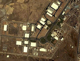 Iran's Natanz uranium enrichment facility, as photographed earlier this year