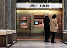 Credit Suisse says it hopes to restore profitability in 2003
