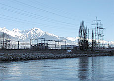 Hydraulic power covers nearly two thirds of Switzerland's electricity needs