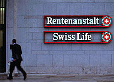 Investors pushed stocks in Swiss Life to their lowest level ever on Monday