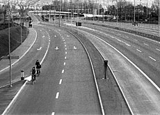 Switzerland experienced car-free Sundays during the petrol crisis of 1973