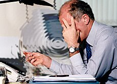 Work-related stress disorders are on the rise (Highland Health)