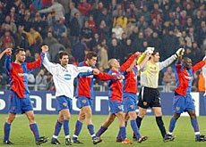 FC Basel are the only Swiss club managing to pull in large crowds