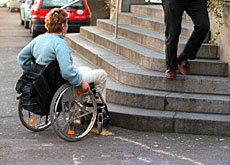 Many buildings still do not provide adequate access for disabled people