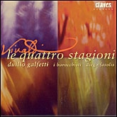 Vivaldi. The Four Seasons. Concerti. (CD Claves)
