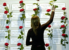 In memoriam: 71 people were killed in the mid-air collision