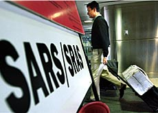 Travellers from Sars-infected countries will have to give their details
