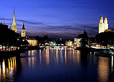 Zurich's strength as a financial hub is crucial for the Swiss economy (Switzerland Tourism)