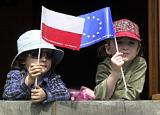 Poland is one of the ten countries set to join the EU