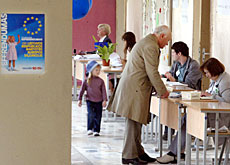 Lithuanians last week voted overwhelmingly to join the EU