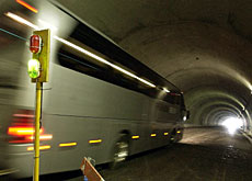 The third Baregg tunnel will help ease congestion on the Bern to Zurich motorway