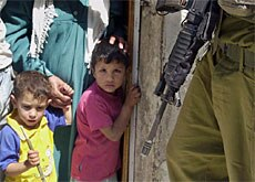 The ICRC says Palestinian children are suffering under the military crackdown