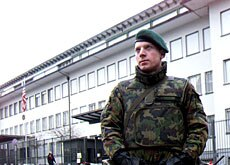 Troops will continue to provide security around foreign embassies in Switzerland.